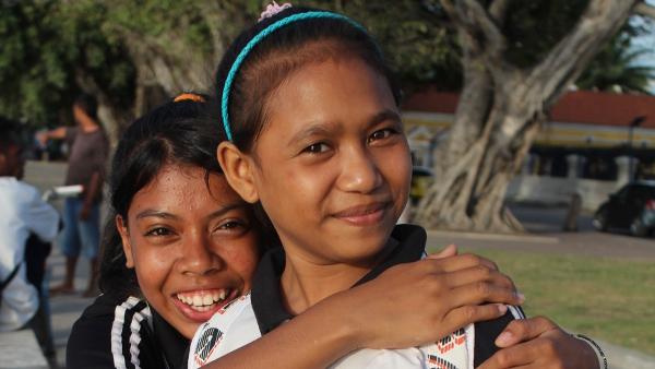 Students in Dili, Timor-Leste for ADB
