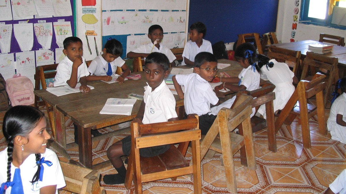 Classroom in Fonadhoo, Maldives for UNICEF