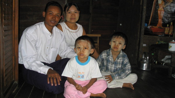 Family in Pago, Myanmar for UNICEF