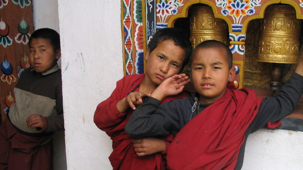 Monastery in Phunaka, Bhutan for UNICEF